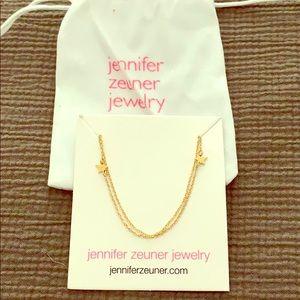 Jennifer zeuner layer necklace